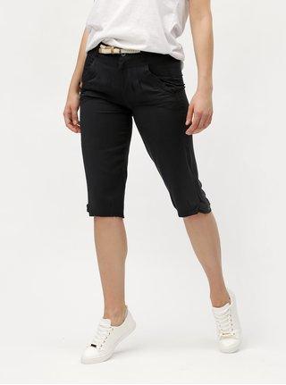 Pantaloni de dama negri 3/4 Ragwear Cripsy