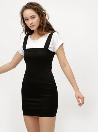 Rochie neagra mini teaca cu bretele MISSGUIDED
