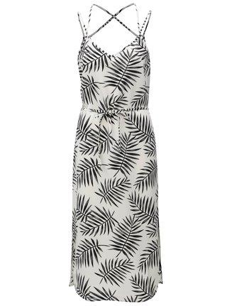 8124e7e57c5a Čierno-biele vzorované midišaty Jacqueline de Yong Carla