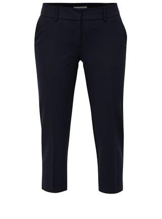 Tmavě modré formální kalhoty Dorothy Perkins Petite