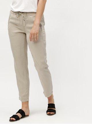 Pantaloni de dama largi bej s.Oliver