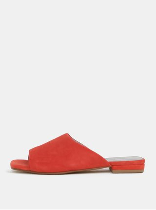 Cihlové dámské semišové pantofle Vagabond Becky
