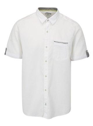Bílá pánská regular fit košile s.Oliver