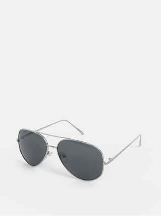 Ochelari de soare pilot argintii ONLY & SONS Display