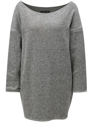 Sivý melírovaný sveter THAÏS & STRÖE