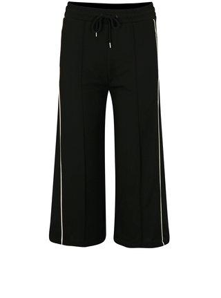 Čierne culottes s bielymi pruhmi Moss Copenhagen Seely 6d06f45e5bd
