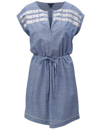Rochie albastra cu cordon Nautica Chambray