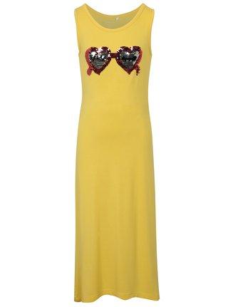 Žlté šaty s magickými flitrami name it Jasmie