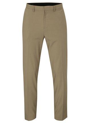 Béžové slim fit kalhoty Burton Menswear London