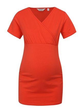 Tricou rosu pentru femei insarcinate si pentru alaptat Dorothy Perkins Maternity