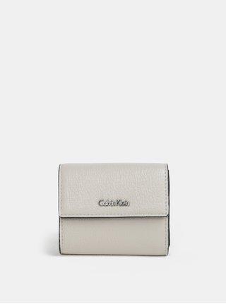 Krémová dámska peňaženka Calvin Klein Jeans