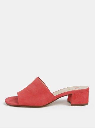 Ružové papuče na podpätku Högl