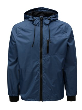 Jacheta albastra cu gluga Blend