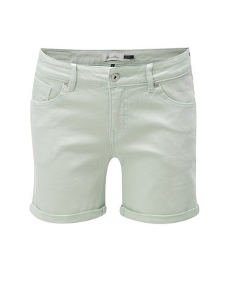 Pantaloni scurti verde deschis Blendshe Casual Cameo