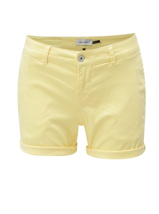 Pantaloni scurti galben Blendshe Casual Aze