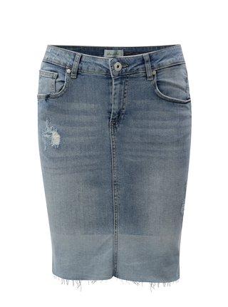 Modrá džínová pouzdrová sukně Blendshe Gemini