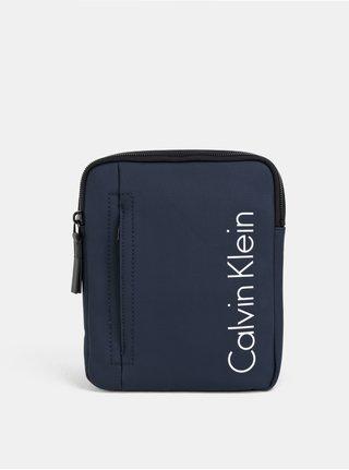 Tmavomodrá malá pánska crossbody taška Calvin Klein Jeans