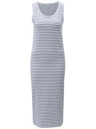 Modré pruhované šaty Blendshe Jemima f52b7fd986