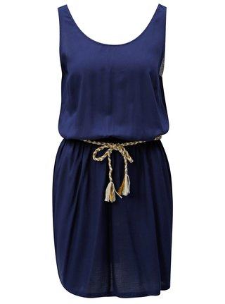 Tmavě modré áčkové šaty Blendshe Ellen