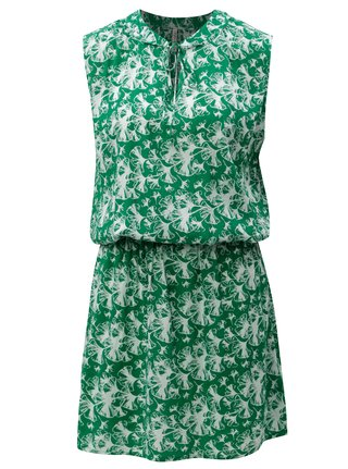 Zelené vzorované šaty Blendshe Gabi
