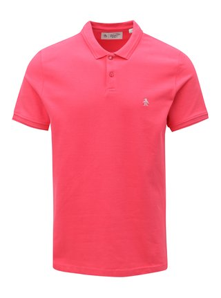 Růžové polo tričko Original Penguin Raised