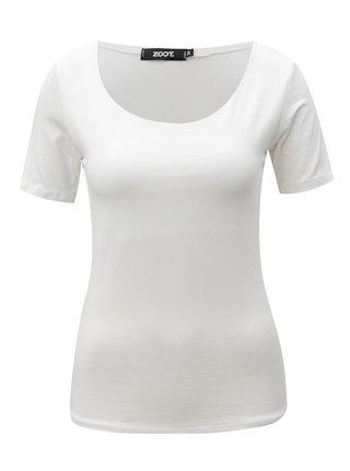 Bílé basic tričko s krátkým rukávem  ZOOT