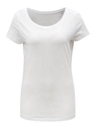 Biele dámske basic tričko Stanley & Stella Loves