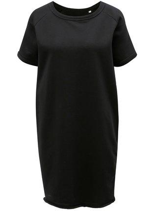 Černé mikinové šaty Stanley & Stella Tendrs
