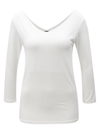 Bílé tričko s dlouhým rukávem ZOOT