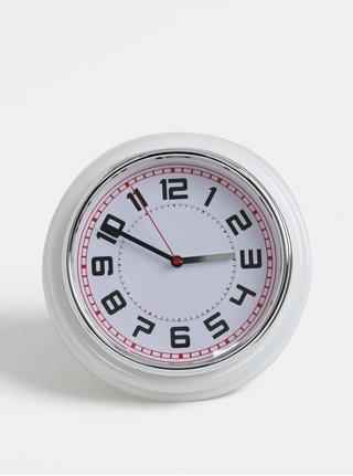 Biele nástenné hodiny Kaemingk
