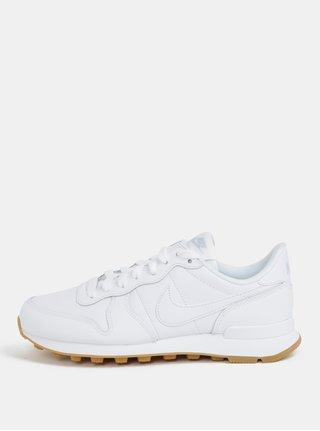 Biele dámske kožené tenisky Nike Internationalist 44b967eb97