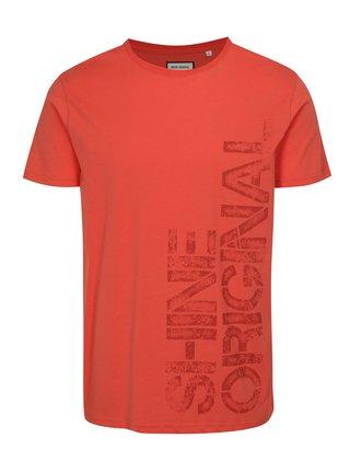 Tricou rosu cu imprimeu Shine Original