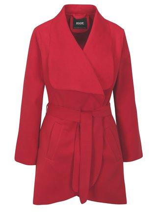 Červený tenký kabát ZOOT