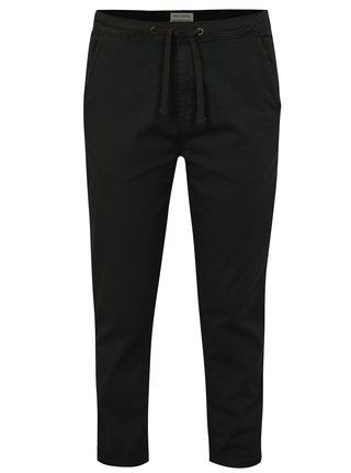 Tmavosivé chino nohavice s pružným pásom Shine Original