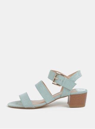 Mentolové sandále v semišovej úprave Dorothy Perkins