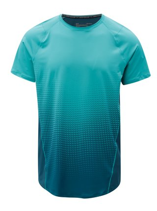 Tricou barbatesc verde functional cu maneci scurte Under Armour