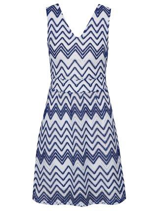 Rochie albastra cu cordon in talie Mela London