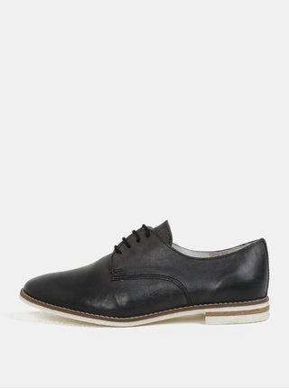 Pantofi de dama negri din piele naturala Weinbrenner