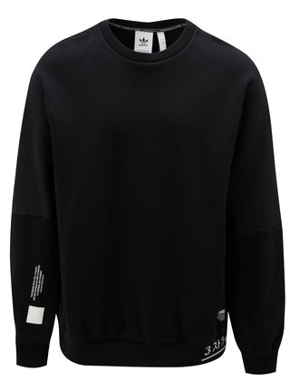 Bluza barbatesca sport neagra cu print  adidas Originals