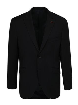 Sacou formal de lana albastru-negru Good Son