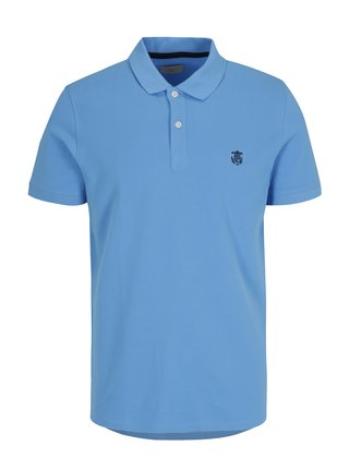 Tricou polo albastru - Selected Homme Haro