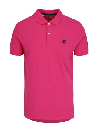 Tricou polo roz - Selected Homme Haro