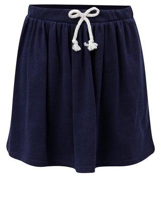 Tmavě modrá sukně se zavazováním 5.10.15.
