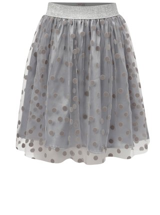 Sivá bodkovaná sukňa 5.10.15.