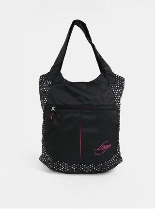 Čierna vzorovaná dámska taška LOAP Finnie