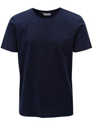 Tmavě modré vzorované tričko Casual Friday by Blend
