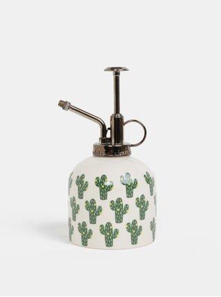 Krémový rozprašovač na kvetiny s motívom kaktusov Sass&Belle Cactus
