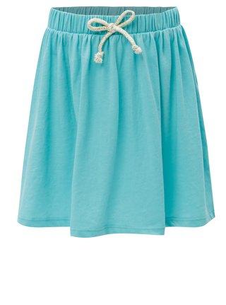 Tyrkysová sukně se zavazováním 5.10.15.
