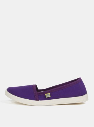 Pantofi de dama slip-on mov Oldcom Canvas