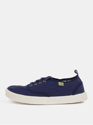 Tmavě modré plátěné tenisky Oldcom Jersey